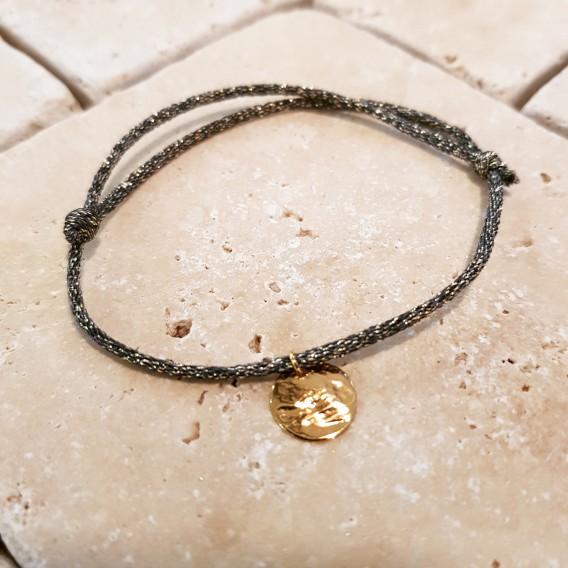 Bracelet pampille lurex