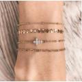Bracelet chaine mini boule