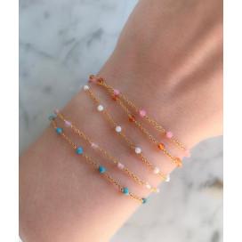 Bracelet Chaine Pierre Anna