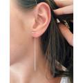 Boucle d'oreille chaine LIV