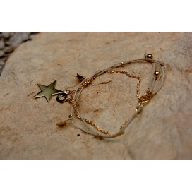 Bracelet chaine cordon