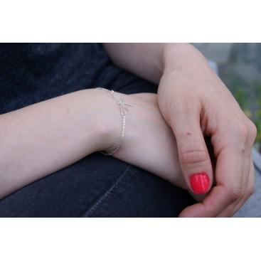 Bracelet Libellule en argent